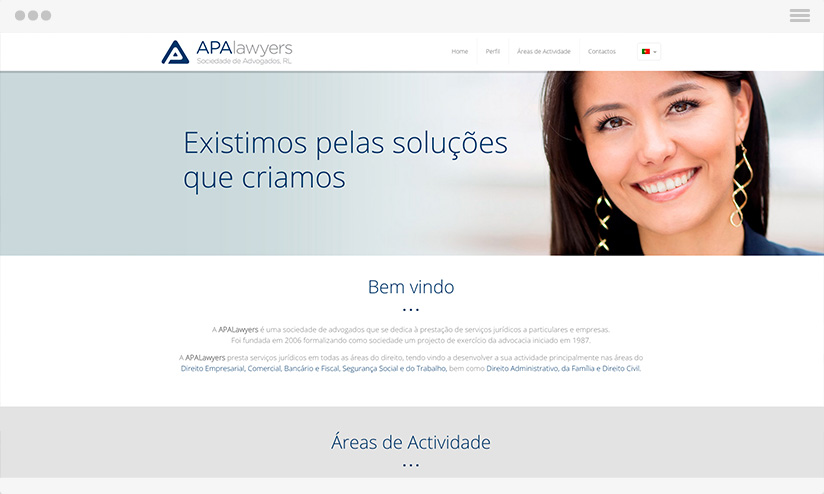 law Website GRAPHIC & WEB DESIGN