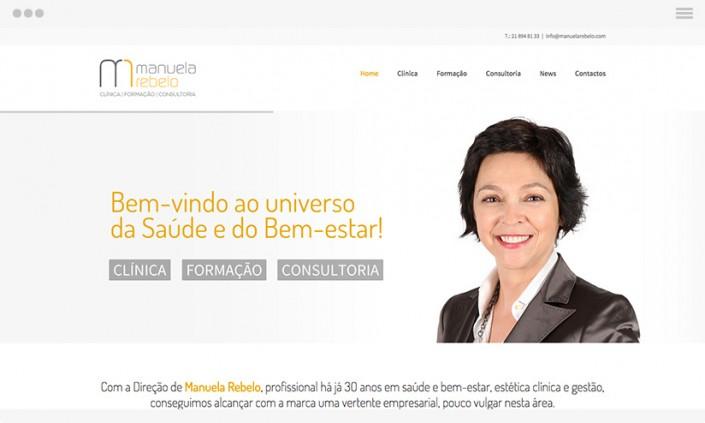 Website Design Manuela Rebelo GRAPHIC & WEB DESIGN