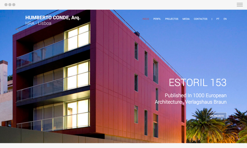 Arquitecto Humberto Website