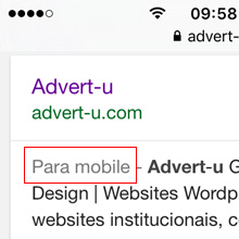 Advert-u Website e design Gráfico